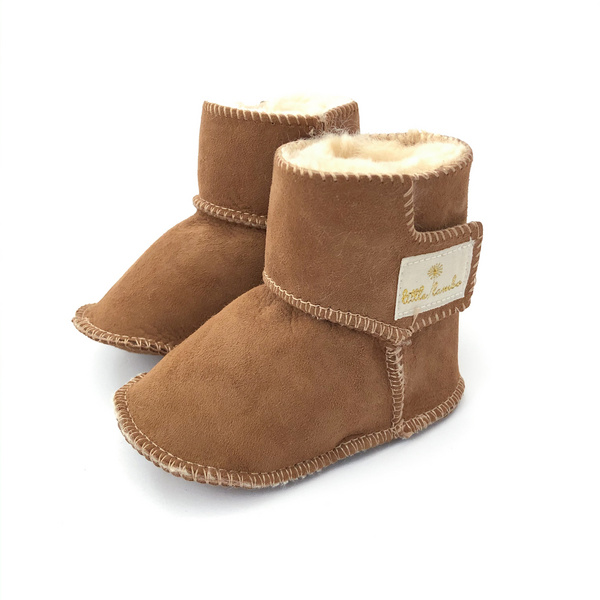 Snuggly Booties - Brown