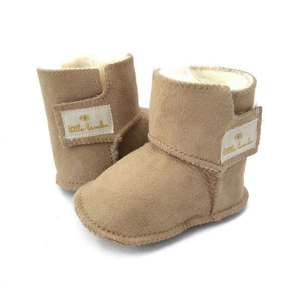 Snuggly Booties - Sand